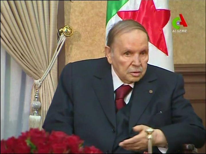 Abdelaziz Bouteflika (TV-Aufnahme, ausgestrahlt am Montagabend)