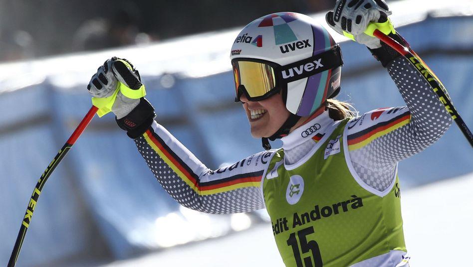 Siegerin Viktoria Rebensburg
