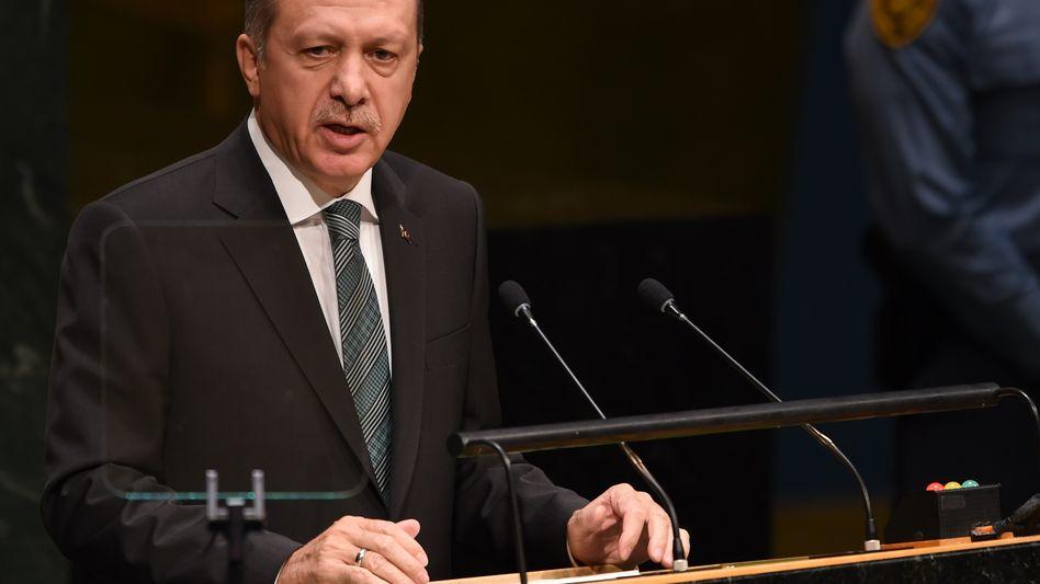"""Präsident Erdogan: """"Es beinhaltet alle Arten, militärisch, politisch, alles"""""""