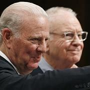 Former US Secretary of State James Baker (left) and Lee Hamilton, a Democrat member of the House of Representatives, co-chaired the Iraq Study Group that has now presented US President George W. Bush with sobering conclusions about his foreign policy.