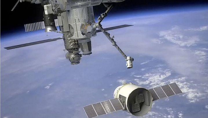 """""""Dragon""""-Kapsel: Privater Hol- und Bringdienst für die ISS"""