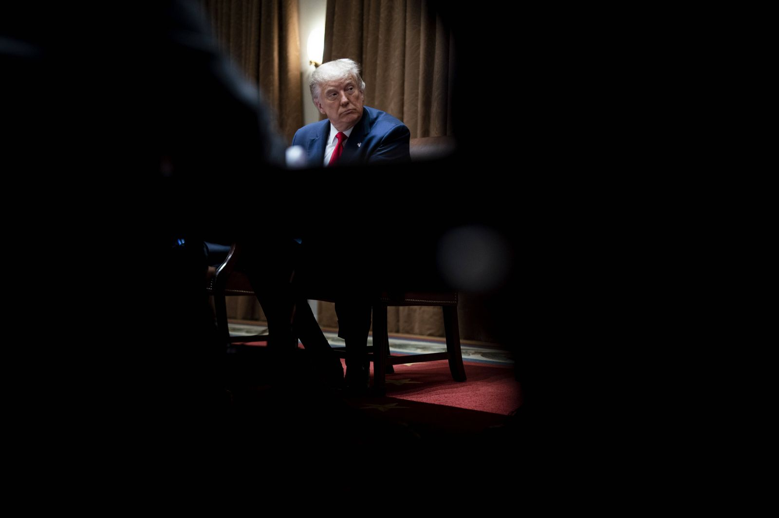 President Donald J. Trump meets with U.S. Tech Workers and signs an Executive Order on Hiring Americans, in the Cabinet