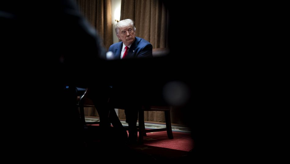 Donald Trump versuchte immer wieder, die Herausgabe seiner Finanzunterlagen an die Staatsanwaltschaft zu verhindern