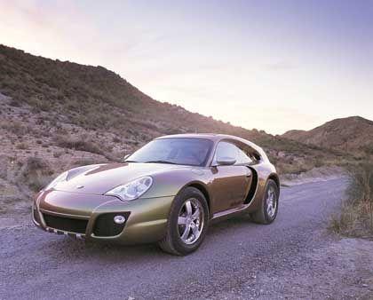 Am Anfang stand ein Porsche: Nach der Schönheitskur heißt er nun Rinspeed Bedouin