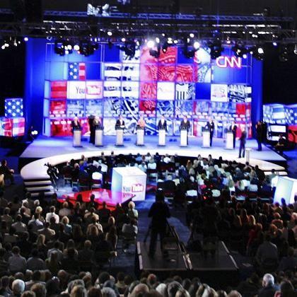 Demokraten-Debatte: Clinton und Co. ließen sich Fragen via Internet stellen