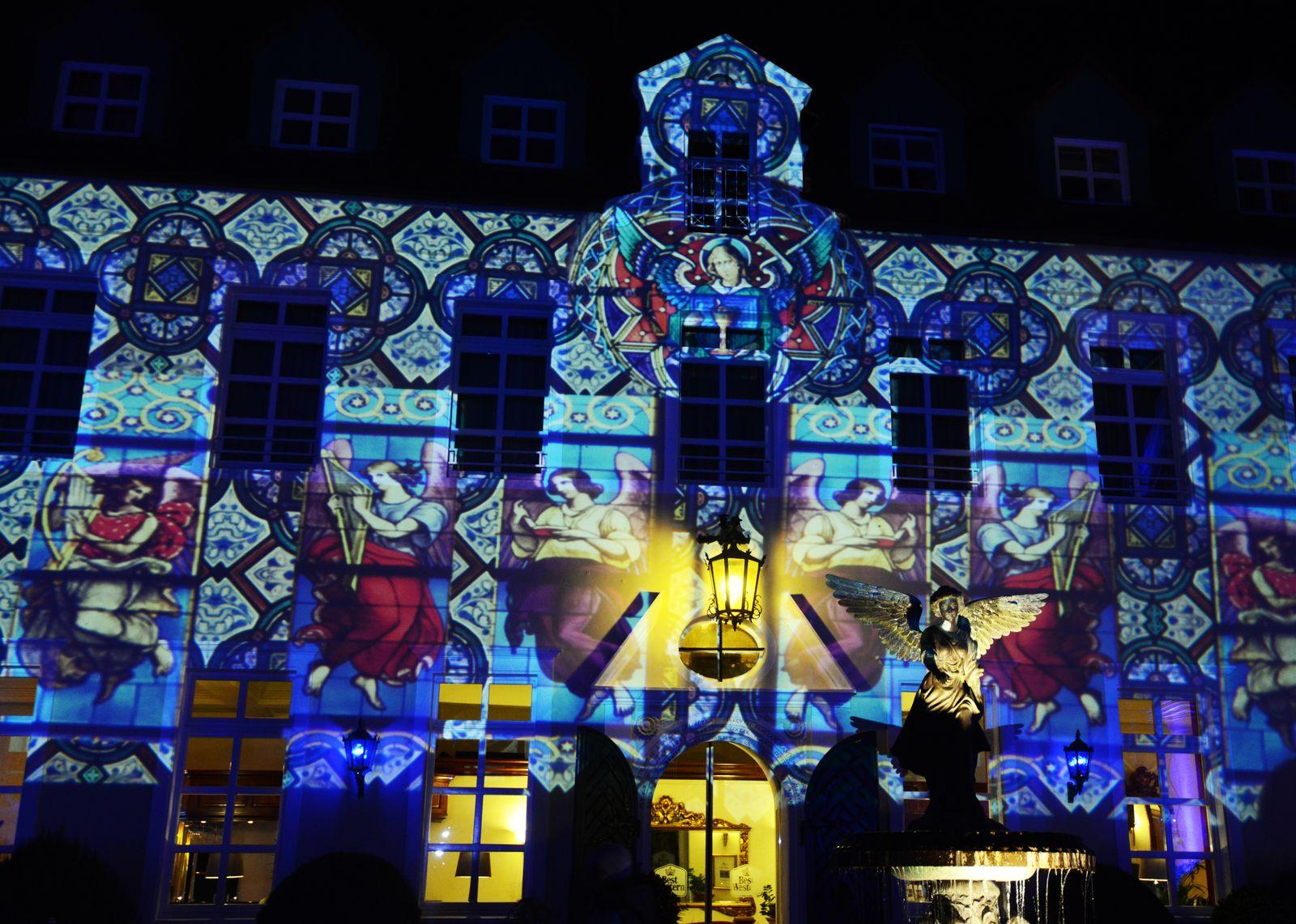 Lichterfestivals/ Recklinghausen leuchtet