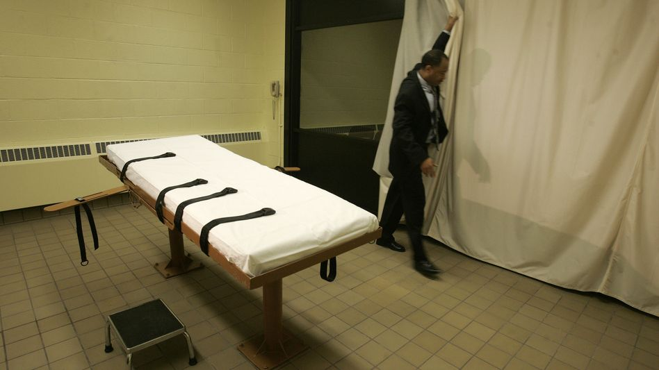 Several executions in the US have had to be delayed in recent months due to a lack of drug supplies.