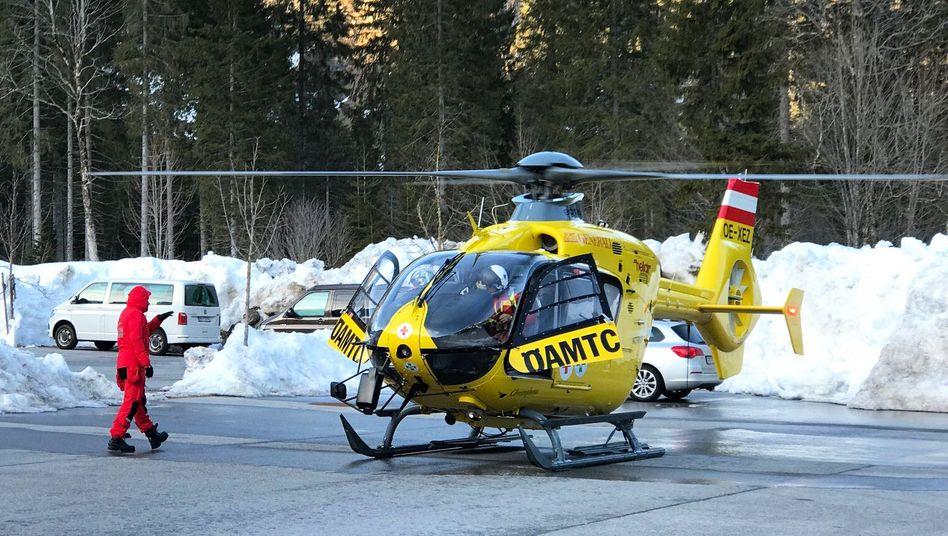 Rettungshubschrauber in Österreich (Archivbild)
