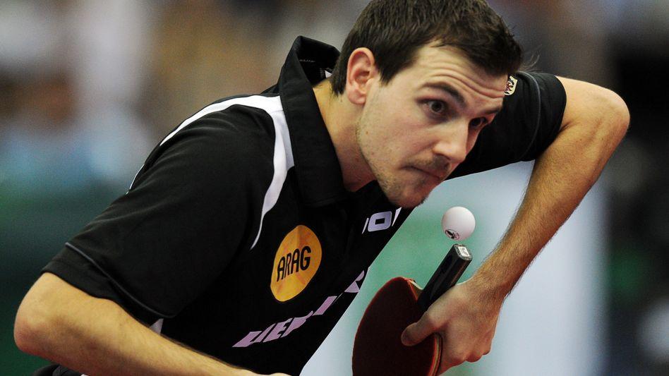 Tischtennisspieler Boll: Sieg gegen Ma Long zu wenig