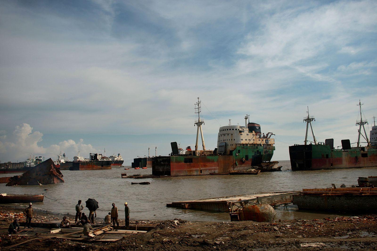 Meeresverschmutzung / Bangladesh