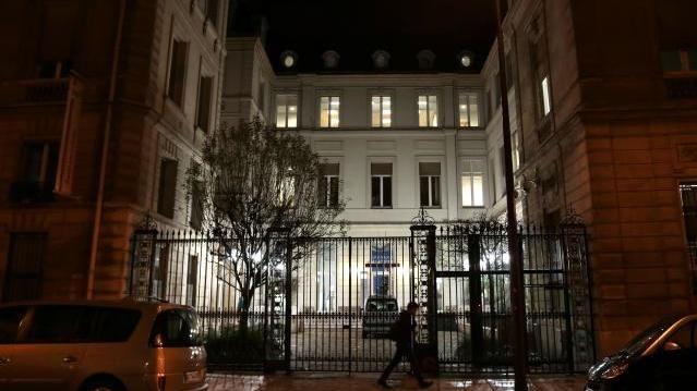 PS-Parteizentrale in Paris