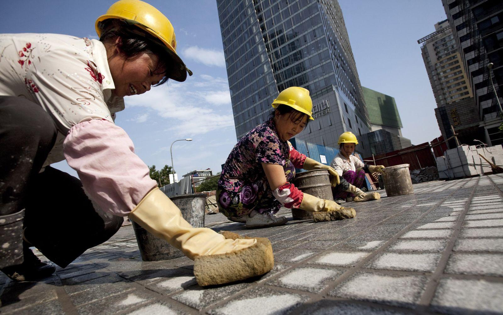 China / Peking / Baustelle