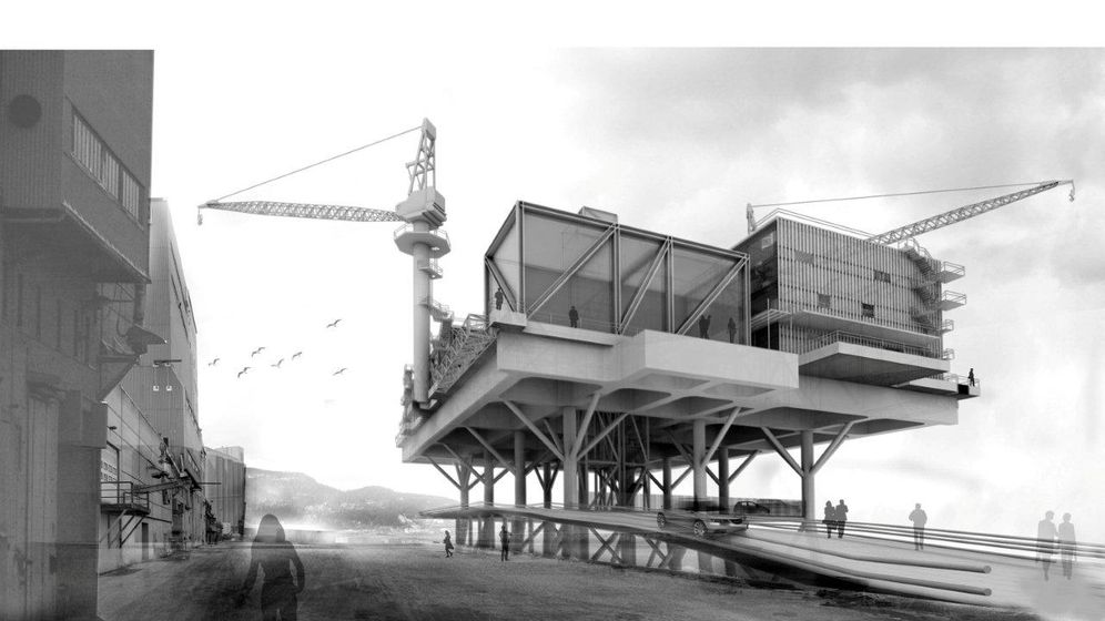 Photo Gallery: Oil Platforms for Urban Revitalization