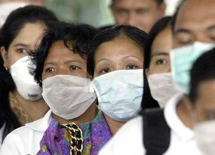 Während der Sars-Krise trugen die meisten Singapurer Gesichtsmasken