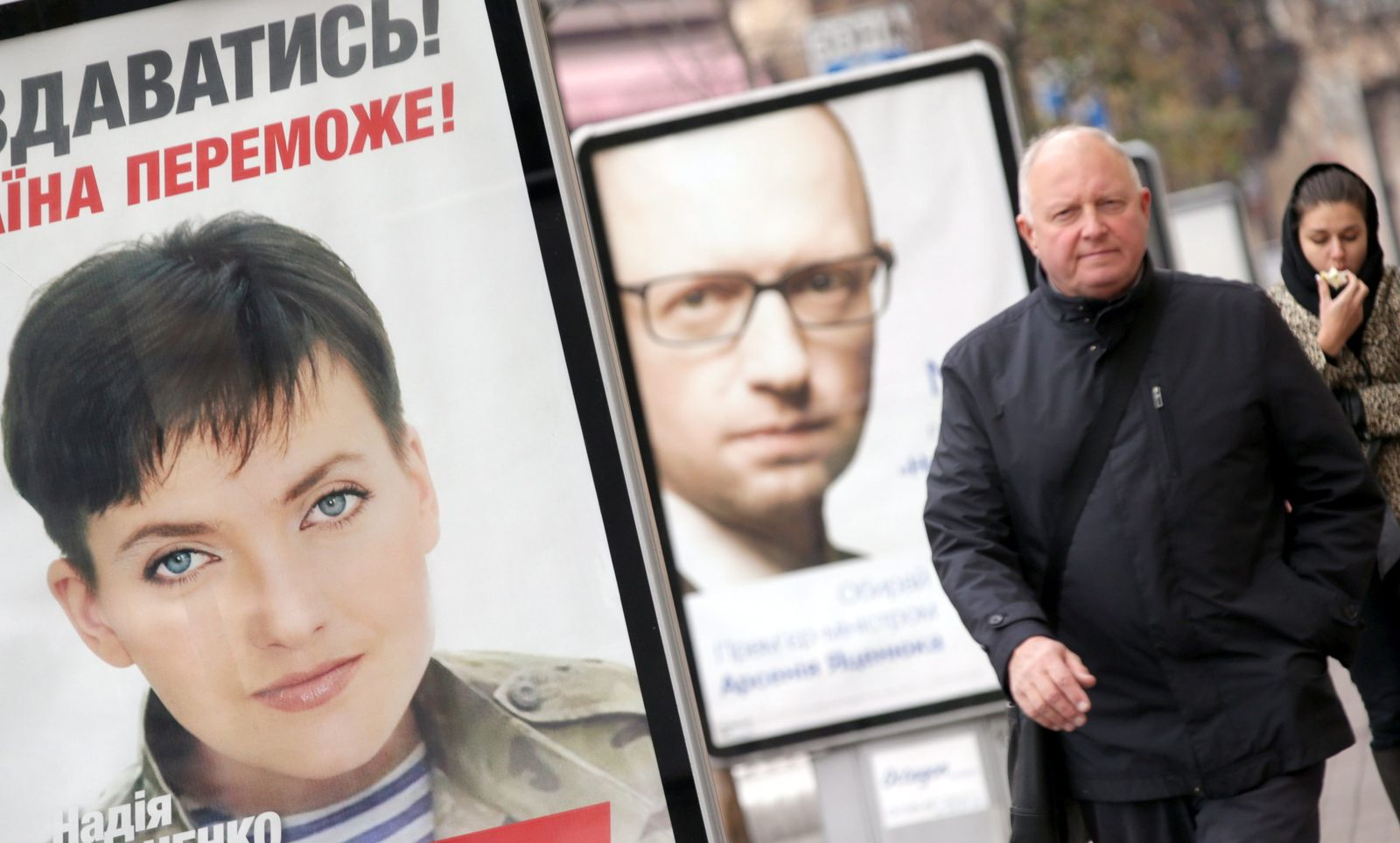Wahlkampf Ukraine