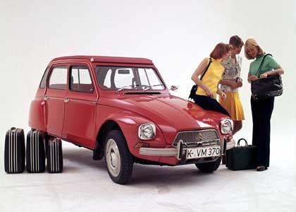 Citroën Dyane: Nie so geliebt wie ihr Vorgänger, die Ente