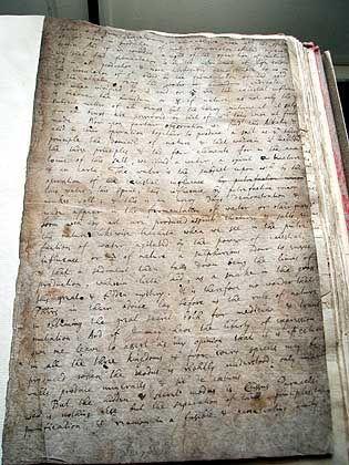 In Bibliothek gefundenes Newton-Manuskript: Codierte Sprache
