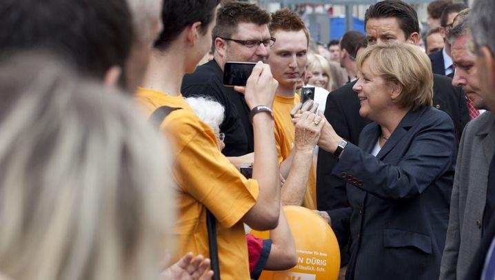 Angela Merkel: Die besten Bilder des Wahlkampfs