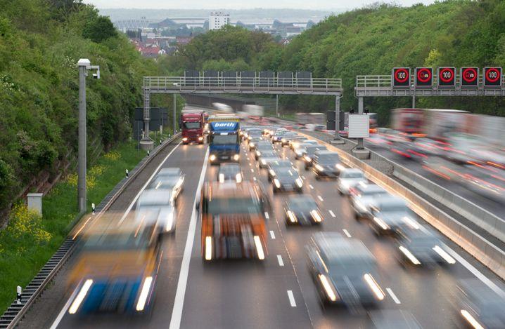 Autobahn in Baden-Württemberg: Die Verkehrswege müssen erneuert werden