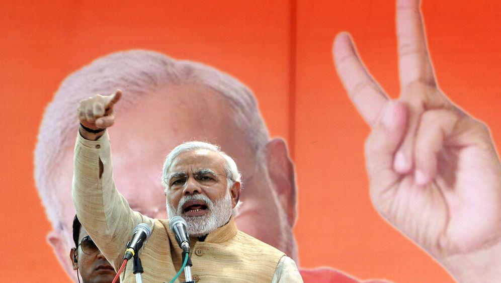 Mega-Wahl in Indien: Der Hoffnungsträger aus Gujarat