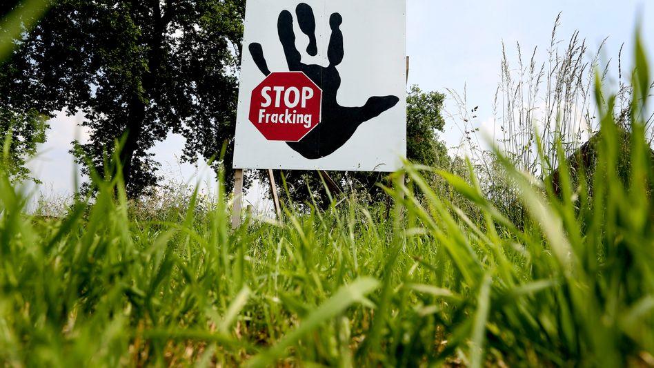 """""""Stop Fracking"""" (Archiv): Umstrittene Gasförderung"""