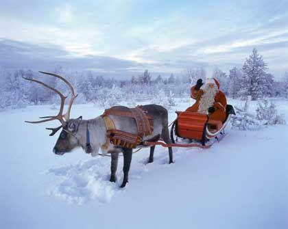 Der Weihnachtsmann: Liebgewonnener Amerikanismus, hier im Basismodell mit einer RS