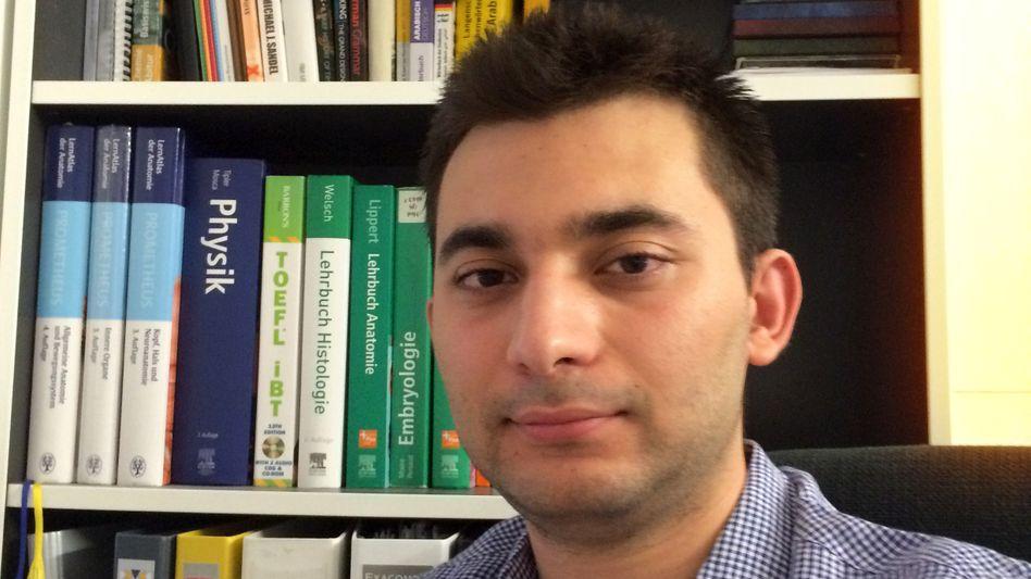 Medizinstudent Yesser Natafji: Der 21-Jährige will Professor werden