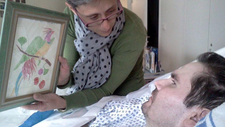 Wachkoma-Patient Vincent Lambert im Jahr 2014