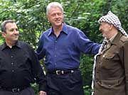 Bill Clinton lud im Juli 2000 nach Camp David: Scheiterten die Verhandlungen an Barak oder Arafat?