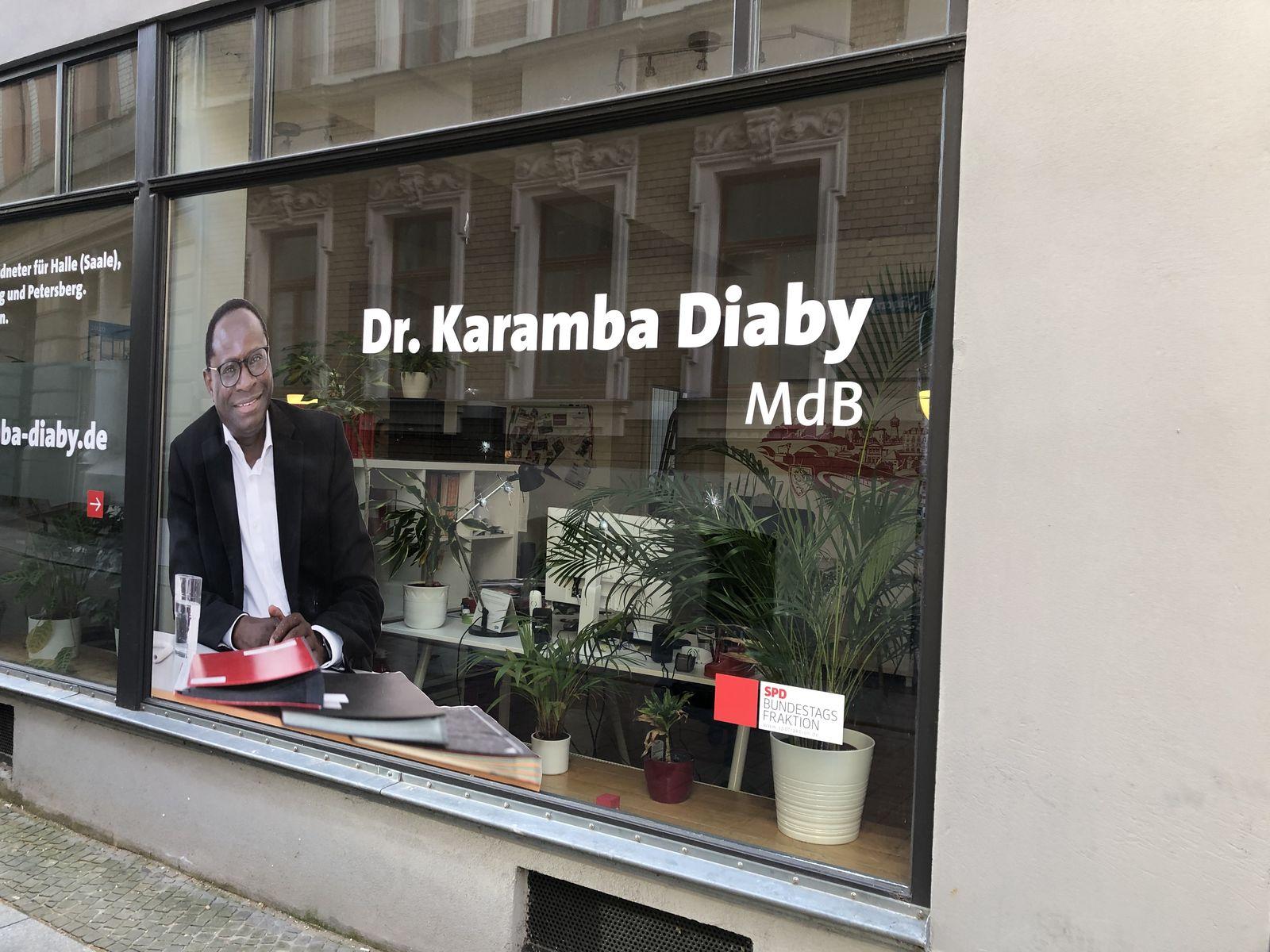 Schüsse auf Büro von SPD Diaby