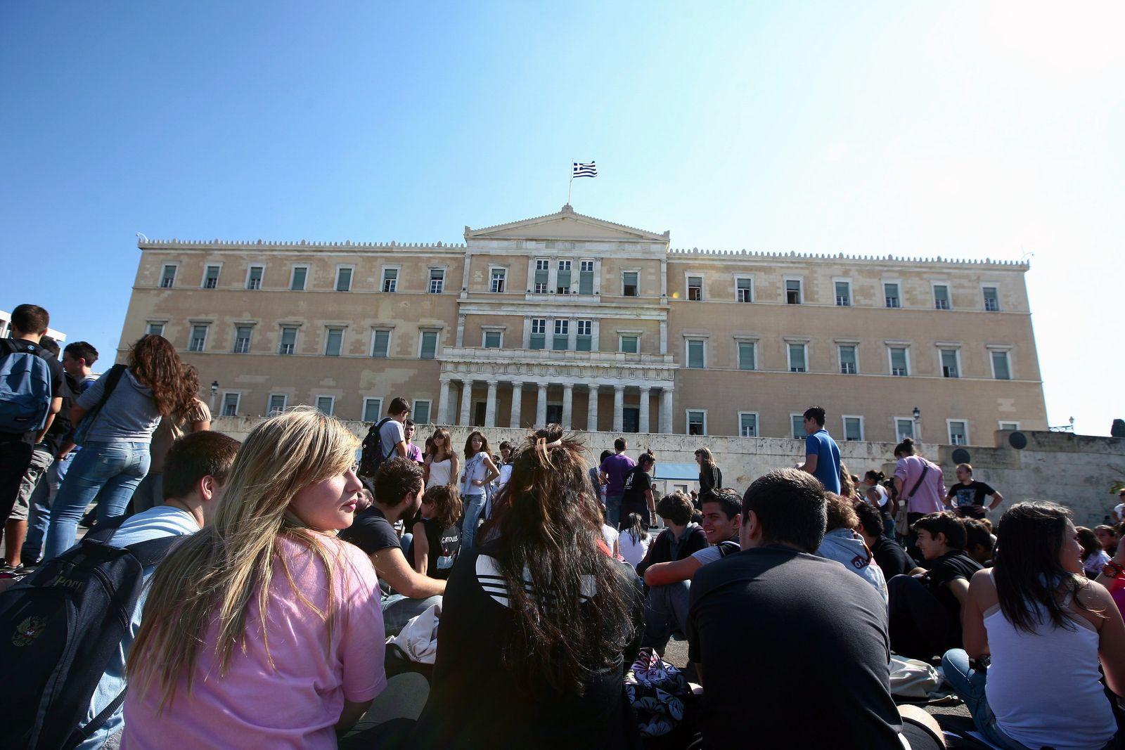 Griechenland/ Studenten-Protest