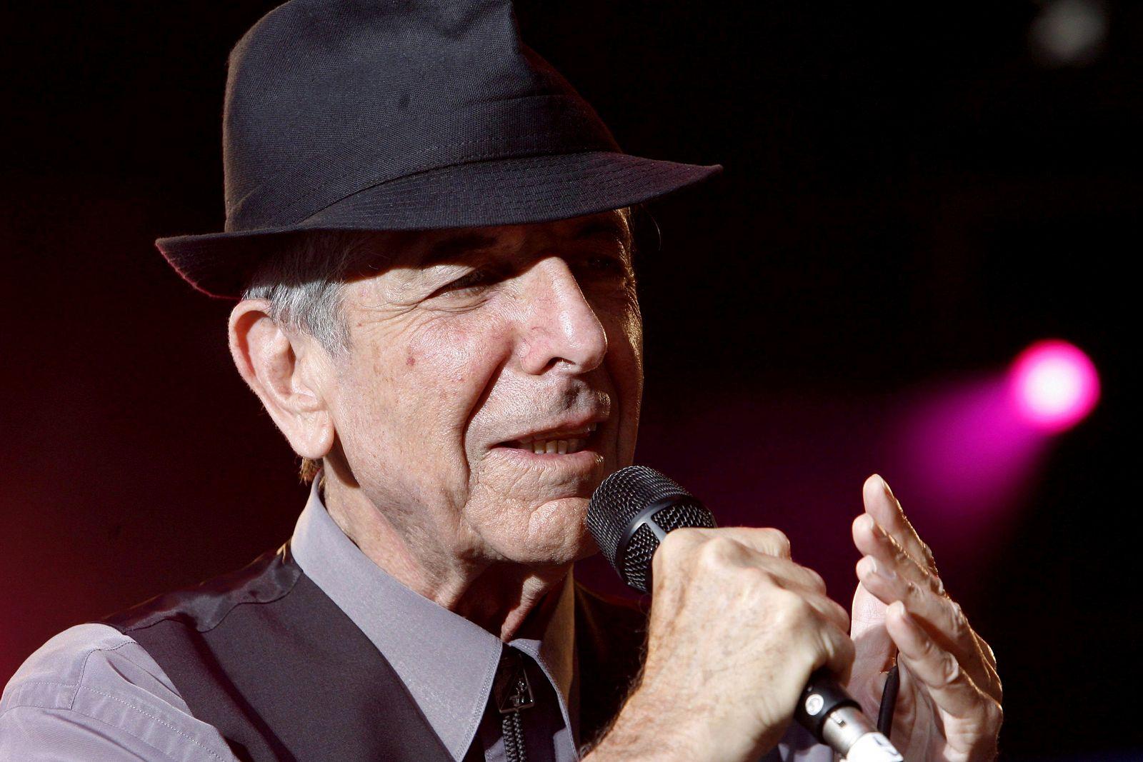 Buch/ Leonard Cohen: Die Flamme