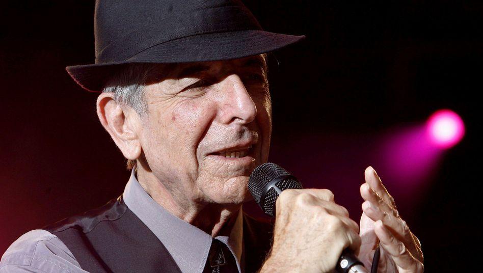 Leonard Cohen (2008 bei einem Auftritt in Lörrach)