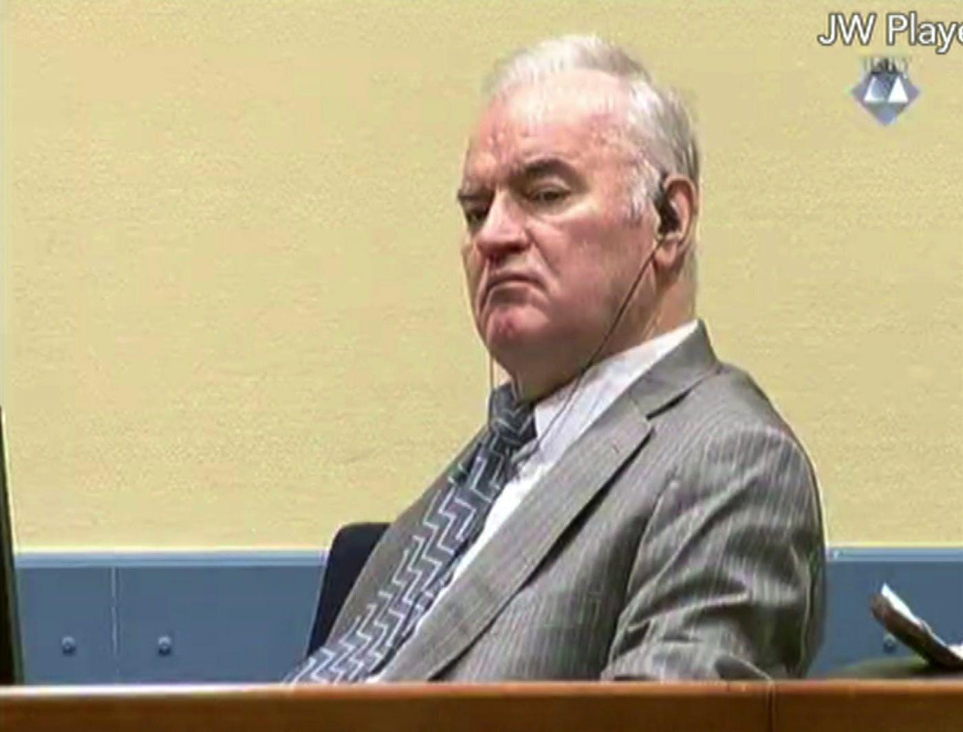 Jugoslawien/ Völkermord-Urteil/ Mladic