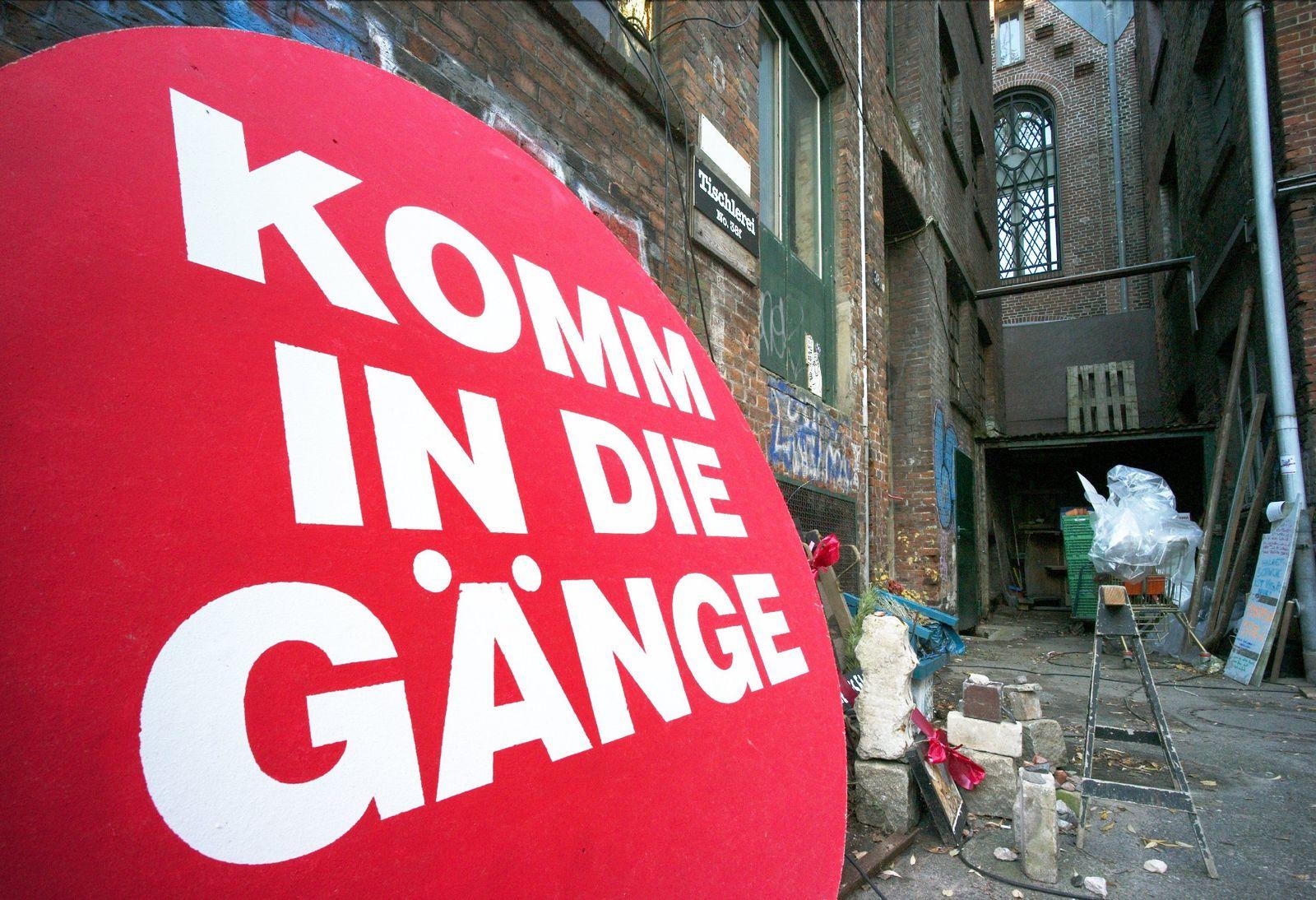 Hamburger Gängeviertel / Komm in die Gänge