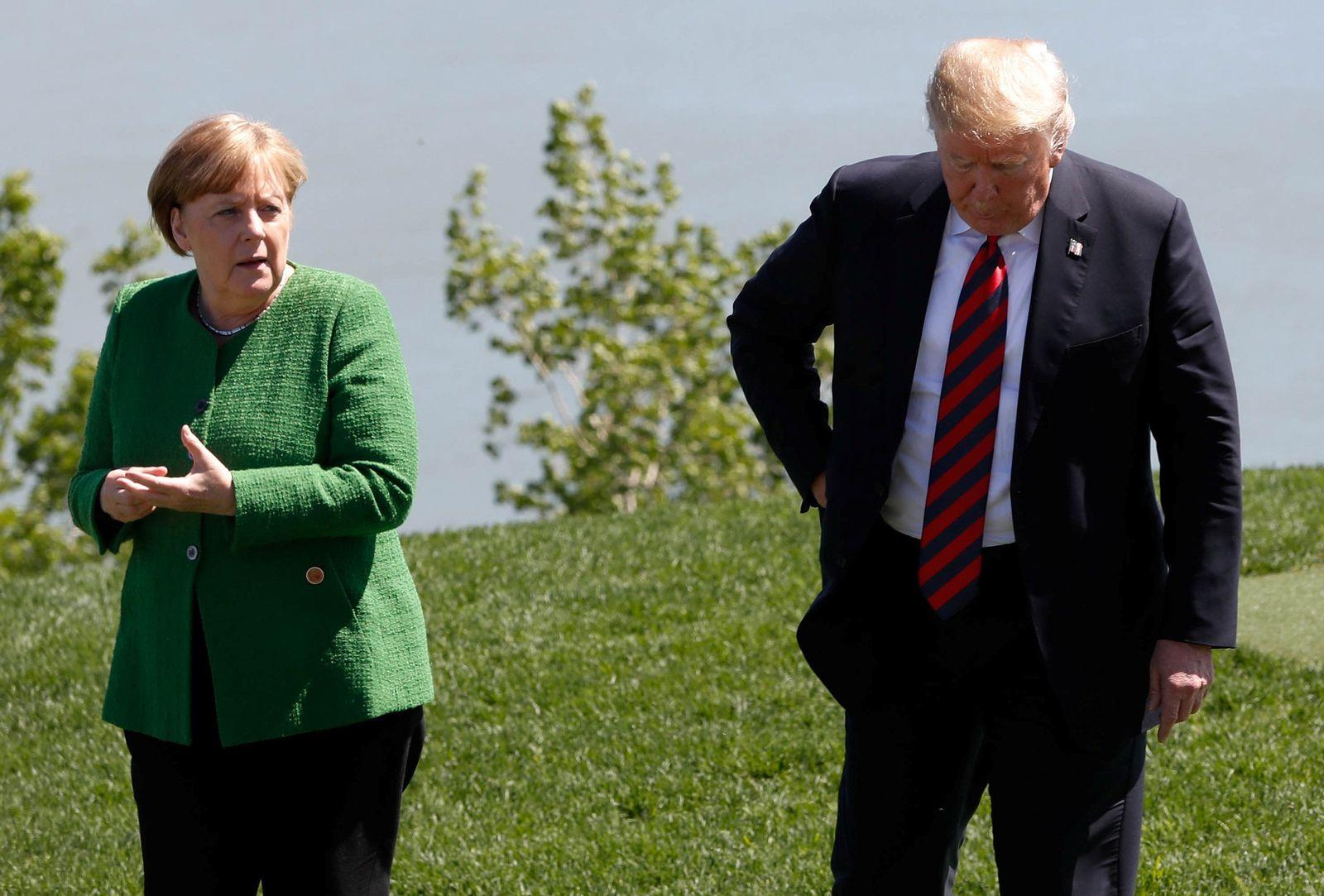 Merkel / Trump