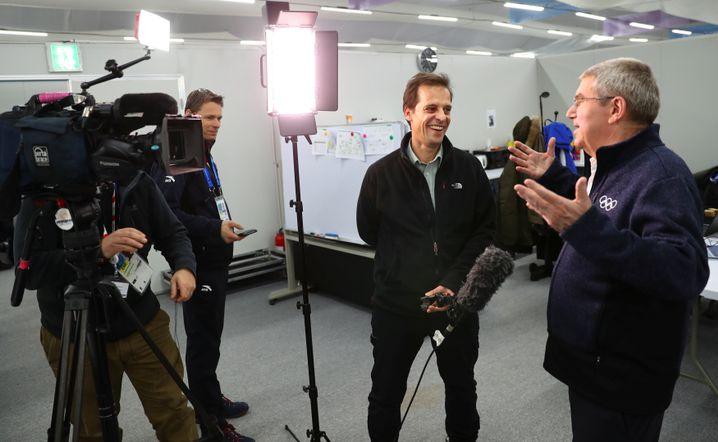 IOC-Präsident Bach in Pyeongchang