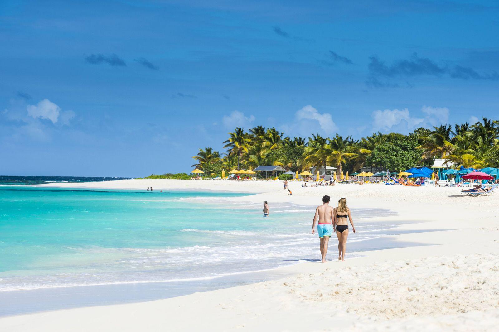 EINMALIGE VERWENDUNG Anguilla