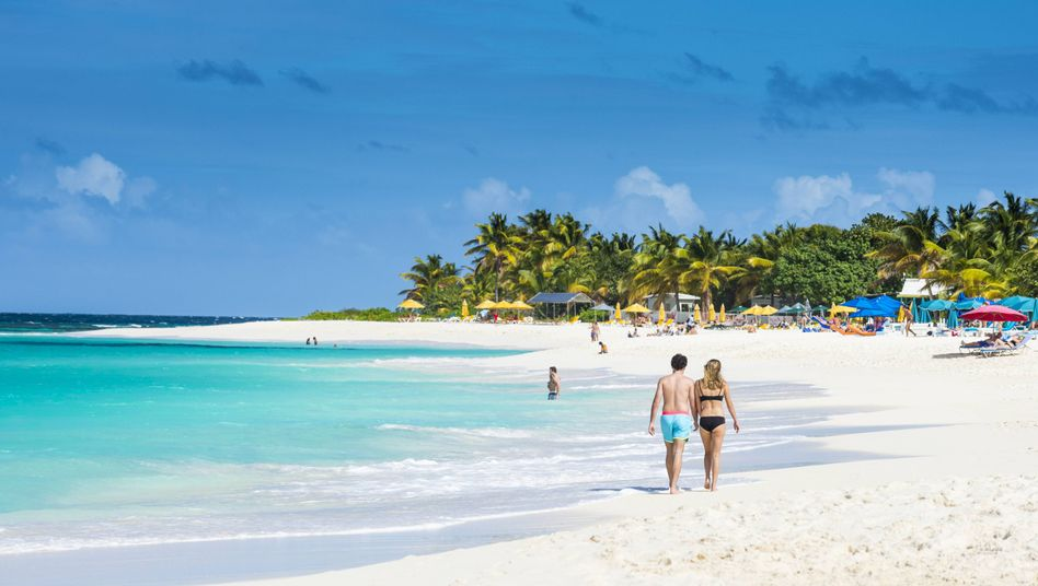 Karibik-Insel Anguilla