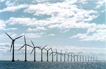 Windpark Middelgrunden in Dänemark: Ein Bau in Deutschland lohnt sich nicht