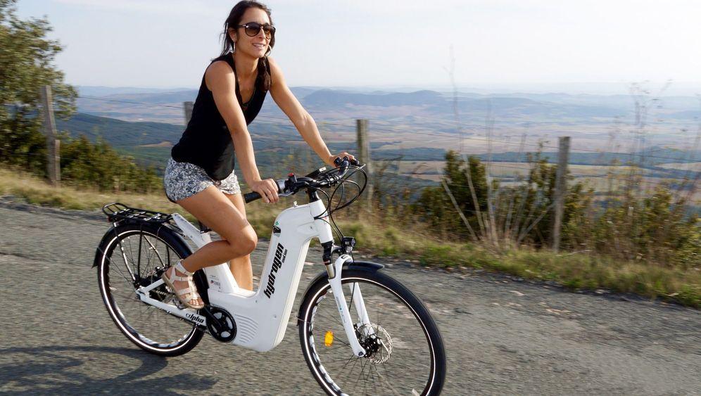 Erstes Wasserstoff-Bike in Serie: Fahrrad mit Dampf