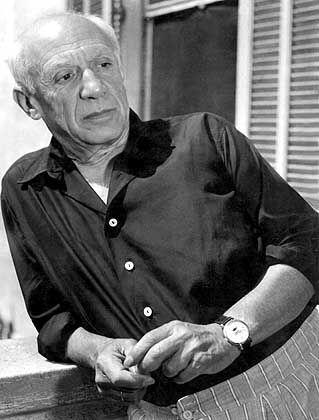 Pablo Picasso: Erfolgreich mit links