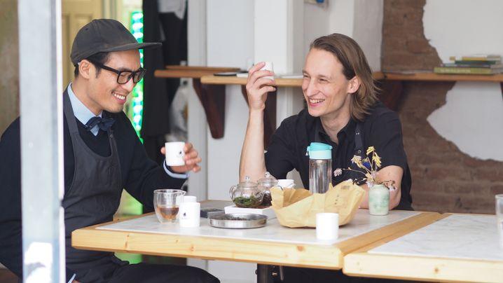Fotostrecke: Unterwegs mit den Hamburger Tee-Scouts