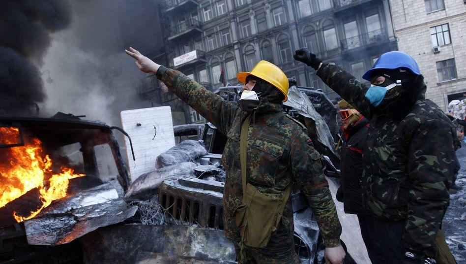 Aufstand in der Ukraine: Der Mob aus der Gruschewski-Straße
