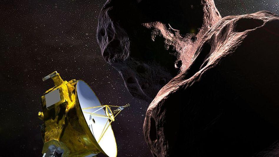"""Darstellung der Nasa-Sonde """"New Horizons"""""""