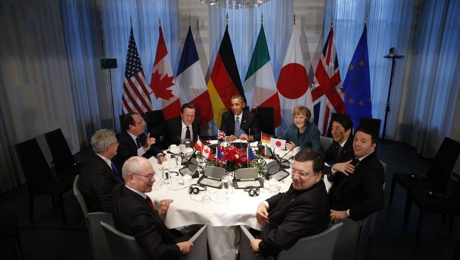 G7 statt G8: Putin muss draußen bleiben
