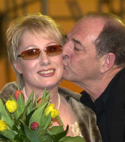 Corinna May und Ralph Siegel fahren nach Tallinn