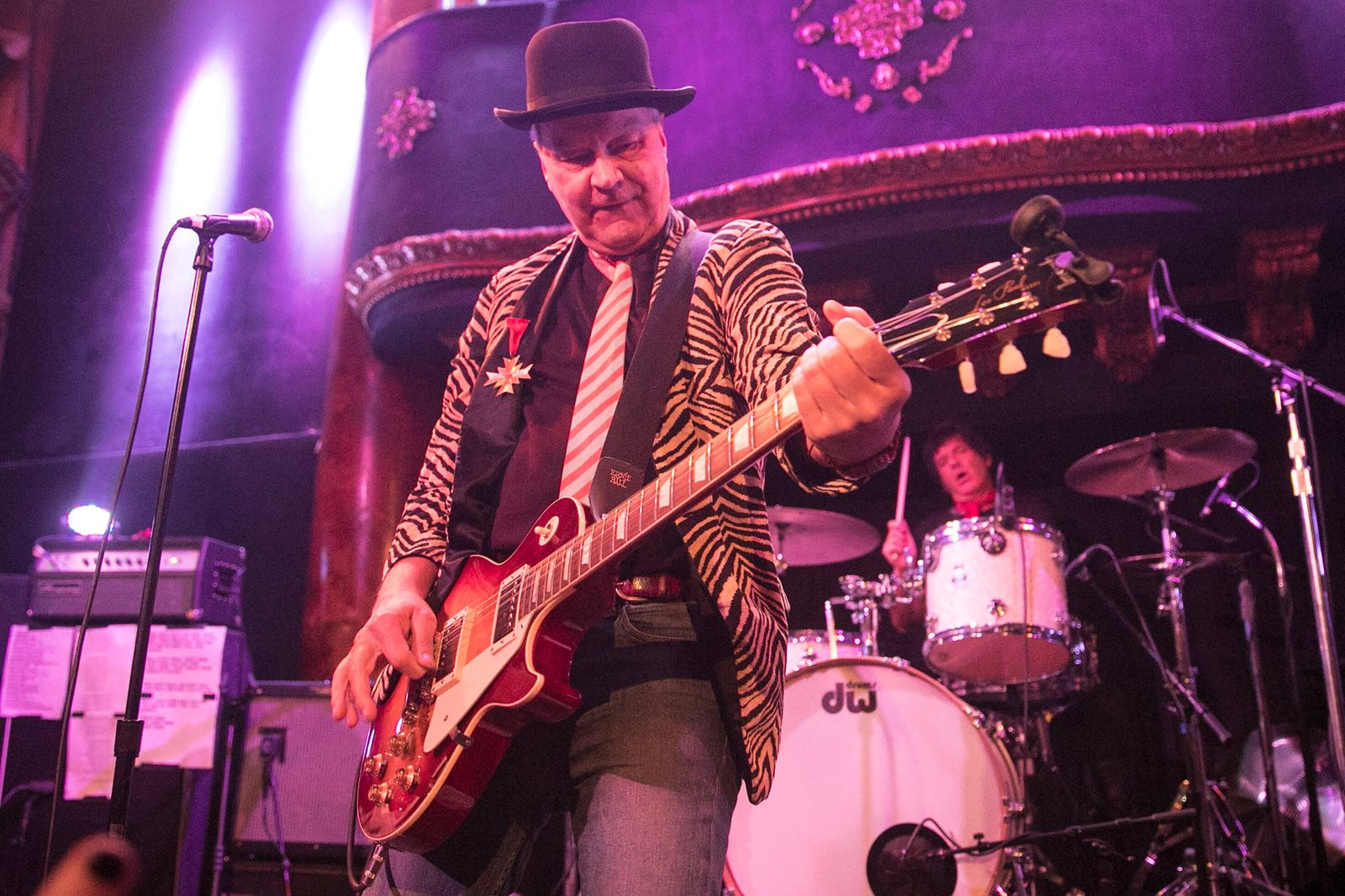 Guitarist Walter Lure performs with L.A.M.F. at the Great American Music Hall on December 4, 2017 in San Francisco, Cali
