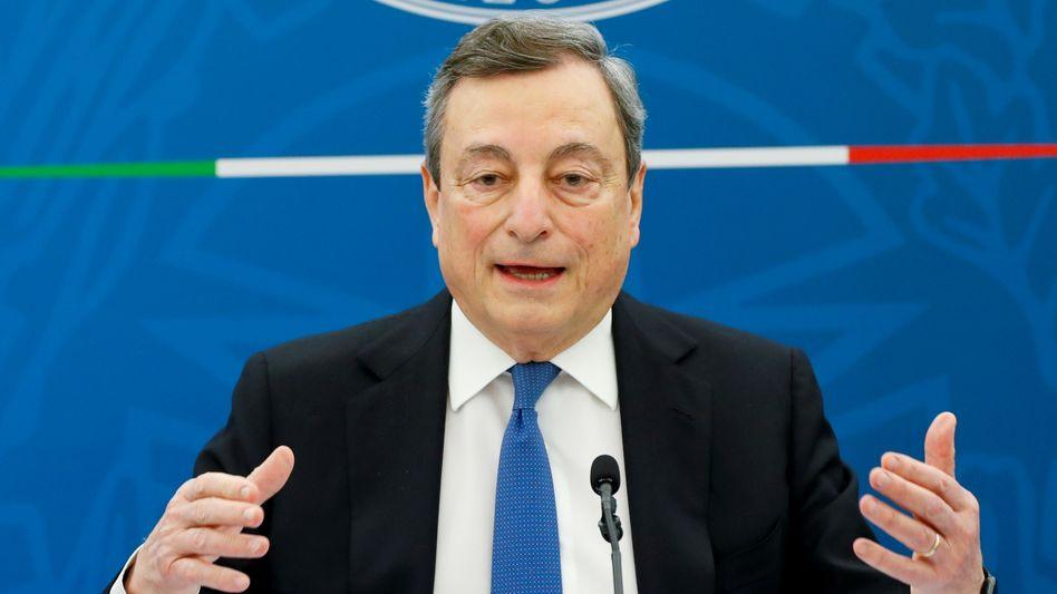 Italienischer Ministerpräsident Draghi: Gut dotierte Karriere in der Finanzwelt