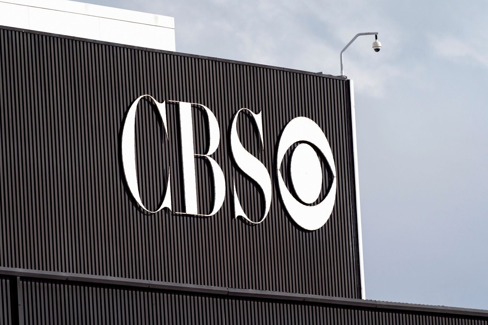 CBS logo seen at the CBS Television City Studio in Los